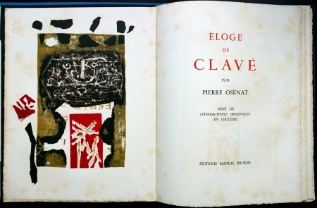 Иллюстрированная Книга Clavé - Éloge De Clavé