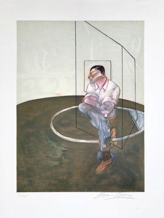 Литография Bacon - Étude pour un portrait de John Edwards, 1987