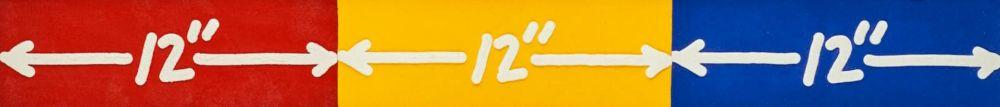 Офорт Bochner - 12'' x 3''