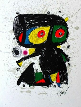 Литография Miró - 15 ans Poligrafa