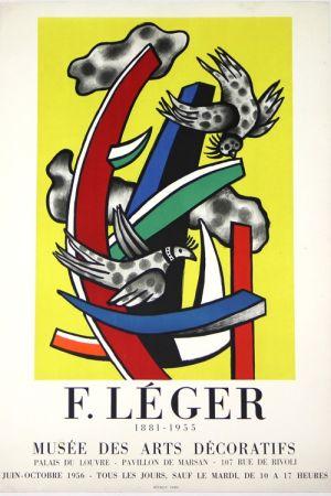 Литография Leger -  1881 - 1955     Musée  Des Arts Décoratifs