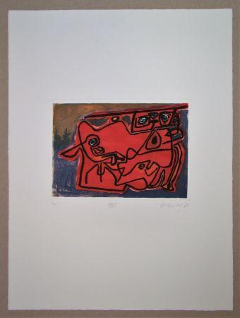 Гравюра Corneille - 1948