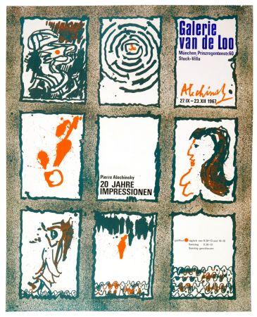 Афиша Alechinsky - 20 Jare Impressionen 1967
