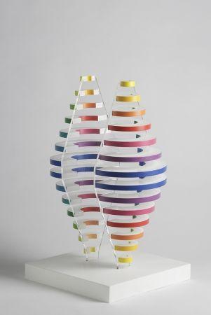Многоэкземплярное Произведение Boto - 2 Demi cones avec anneaux de couleurs
