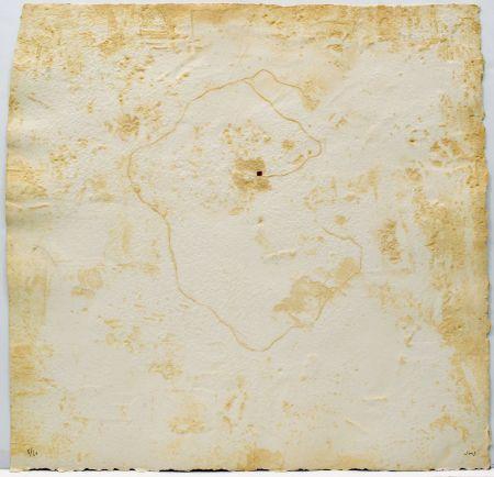 Офорт Sicilia - 30.01.89 (Muro de Berlin)