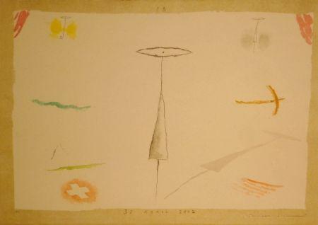 Литография Riera I Aragó - 30 Abril 2002