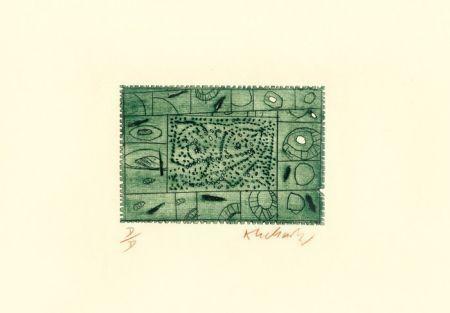 Офорт Alechinsky - 3 petites plaques