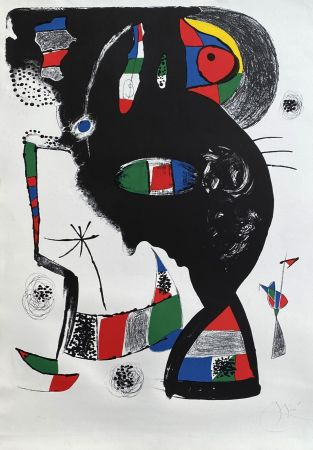 Литография Miró - 42 rue Blomet