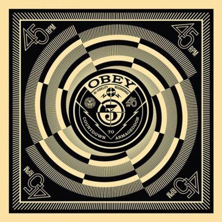 Сериграфия Fairey - 50 Shades of Black Box Set: Countdown to Armageddon