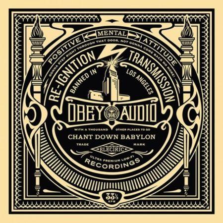 Сериграфия Fairey - 50 Shades of Black Box Set: Reignition Transmission
