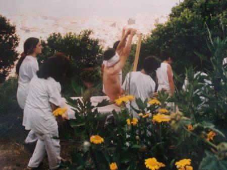 Фотографии Nitsch - 96 Aktion – Giardini San Martino, Napoli, A