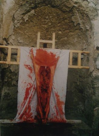 Фотографии Nitsch - 96 Aktion – Giardini San Martino, Napoli, I