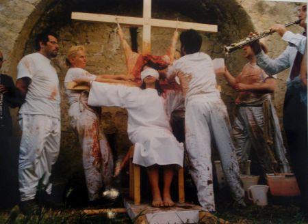 Фотографии Nitsch - 96 Aktion – Giardini San Martino, Napoli, T