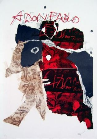 Литография Clavé - A Don Pablo I