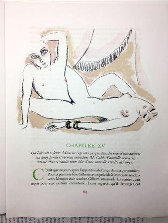 Иллюстрированная Книга Van Dongen - A. France : LA RÉVOLTE DES ANGES. 58 lithographies en couleurs (1951)