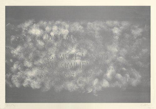 Литография Myles - A History of Type Design / Maximilien Vox, 1894-1974 (Lurs, France)