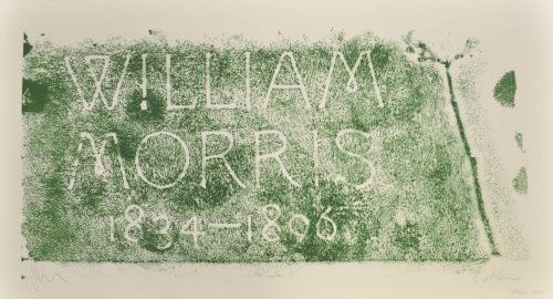 Литография Myles - A History of Type Desing / William Morris, 1834-1896 (Kelmscott, England)