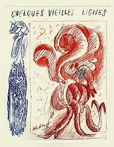 Иллюстрированная Книга Alechinsky - A la gare