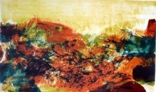 Литография Zao - A la gloire de l'image 278
