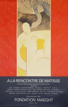 Литография Matisse - A la Rencontre de Matisse Fondation Maeght