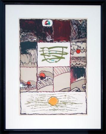 Литография Alechinsky - A l'imprimerie (1967)
