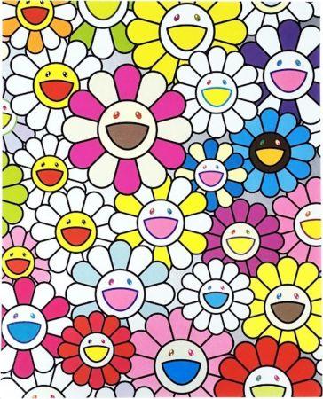 Литография Murakami - A Little Flower Painting I