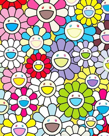 Литография Murakami - A Little Flower Painting II