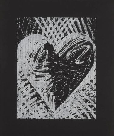 Гравюра На Дереве Dine - A Night Woodcut