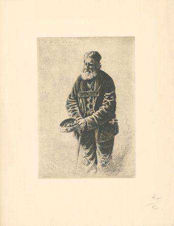 Гравюра Wood - A Stolen Glance