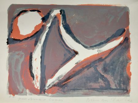 Литография Van Velde - Abstract