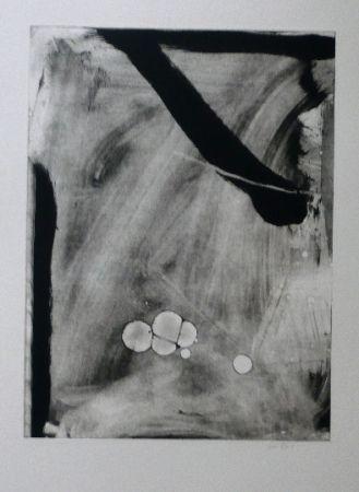 Офорт И Аквитанта Bird - Abstract 10