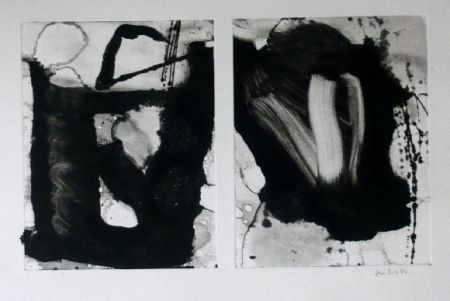 Офорт И Аквитанта Bird - Abstract 3