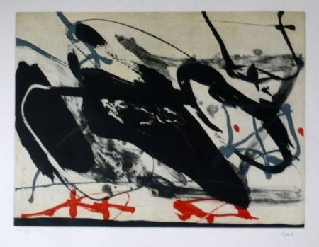 Офорт И Аквитанта Bird - Abstract 5