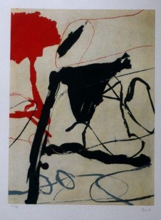 Офорт И Аквитанта Bird - Abstract 6