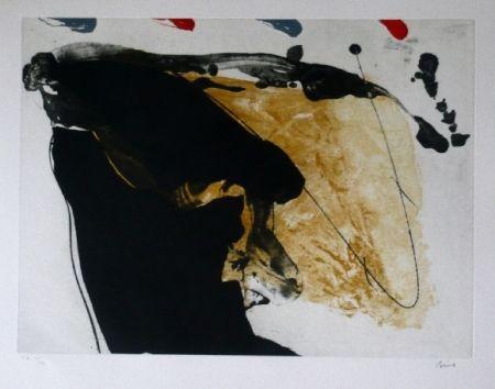 Офорт И Аквитанта Bird - Abstract 7