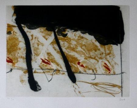 Офорт И Аквитанта Bird - Abstract 8
