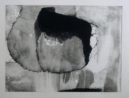 Офорт И Аквитанта Bird - Abstract 9