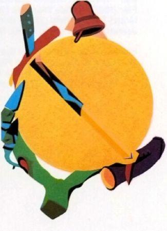Литография Telemaque - Accroche soleil