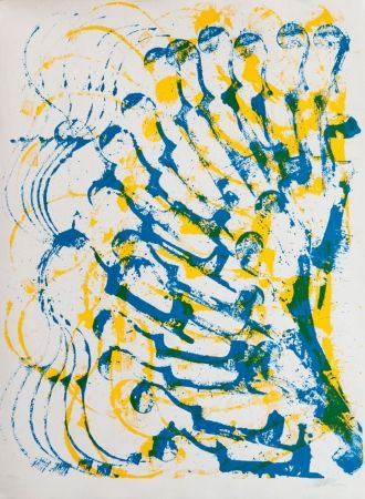 Литография Arman - Accumulation de violons