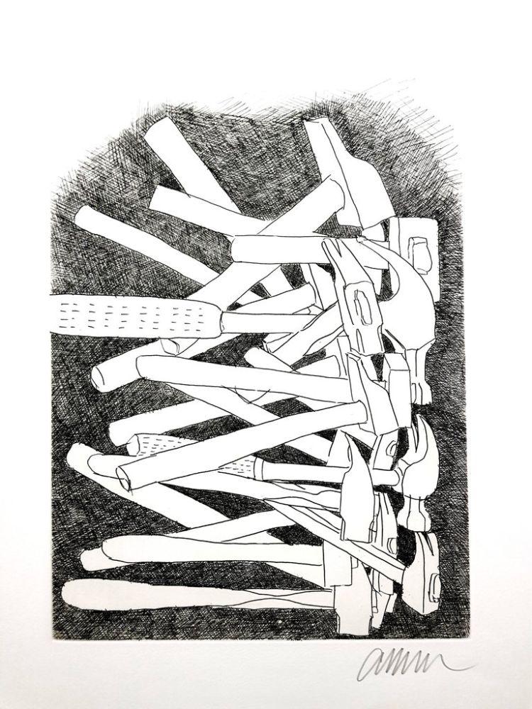 Литография Arman - Accumulations