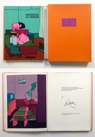 Иллюстрированная Книга Adami - ADAMI. Derrière le Miroir n° 188. Nov. 1970. TIRAGE DE LUXE SIGNÉ.