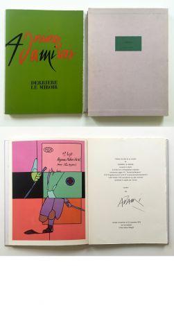 Иллюстрированная Книга Adami - ADAMI. Derrière le Miroir n° 206. Nov. 1973. TIRAGE DE LUXE SIGNÉ.