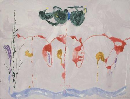 Сериграфия Frankenthaler - Aerie