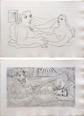 Иллюстрированная Книга Picasso - AFAT. Soixante-seize sonnets (1939).