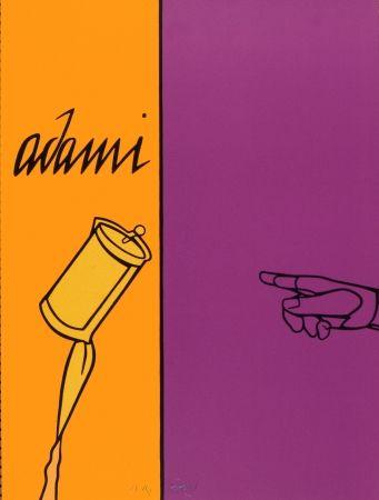 Литография Adami - Aff Avt N° 155