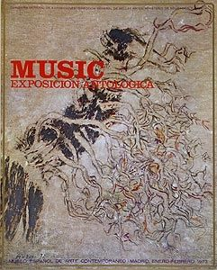 Гашение Music - Affiche de l'exposition à Madrid