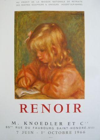 Афиша Renoir - Affiche d'exposition