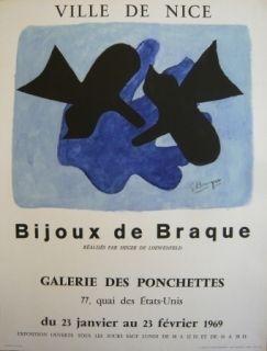 Афиша Braque - Affiche exposition Bijoux de Braque