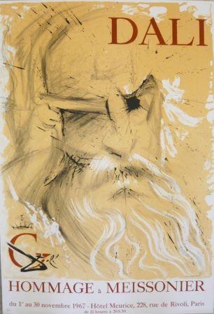 Афиша Dali - Affiche exposition Hommage à Meissonier