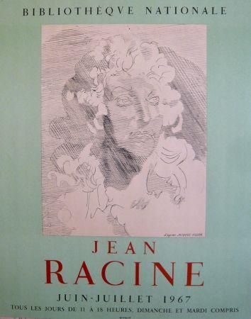 Афиша Villon - Affiche exposition Jean Racine BNF